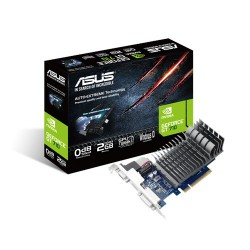 Asus 710-2-SL GeForce GT710 2GB DDR3 VGA DVI-D HDMI PCI-E Graphics Card
