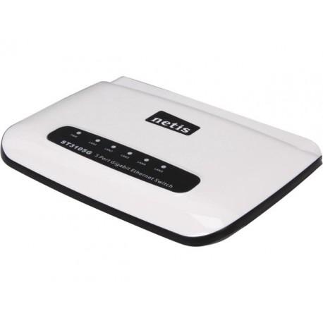 Netis ST3105G Unmanaged 5-Port 10/100/1000M Gigabit Desktop Switch