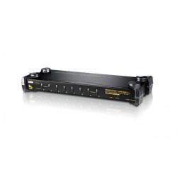 Aten CS1758Q9-AT-G 8 Port PS/2-USB KVM Switch