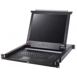 Aten CL1000M LCD KVM Switches 17 in. Single Rail LCD Console