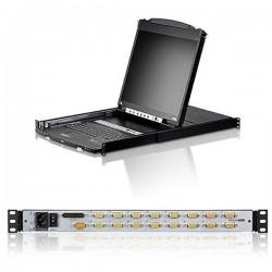 Aten CL5816N 16-Port Dual Rail 19inch LCD KVM
