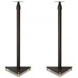 Swans Stand (High Quality Steel + 6 Audio Spikes + Height Adjustment) Speaker