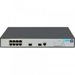 HP 1920-8G-PoE+ (65W) 8 Port Gigabit Ethernet Switch (JG921A)