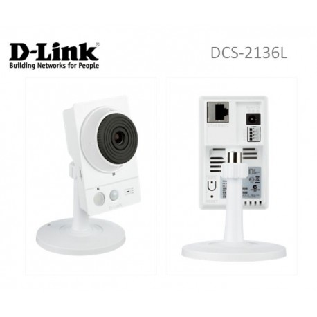D-Link DCS-2136L HD Wireless AC Day/Night Cloud Network Camera with Color Night Vision
