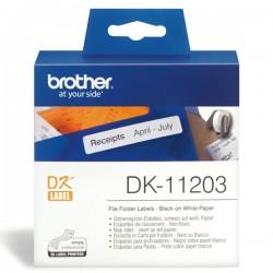 Brother DK-11203 Die-Cut Label For QL-570 / 580N / 1050/ 1060N