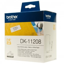 Brother DK-11208 Die-Cut Label For QL-570 / 580N / 1050 / 1060N