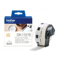 Brother DK-11218 Die-Cut Label For QL-570 / 580N / 1050 / 1060N
