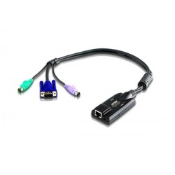 Aten KA7120 PS/2 VGA KVM Adapter with Composite Video Support