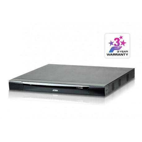 Aten KN4116VA 1-Local/4-Remote Access 16-Port Cat 5 KVM over IP Switch with Virtual Media (1920 x 1200)