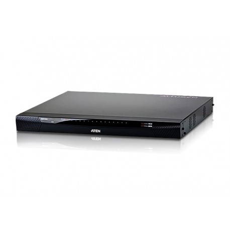Aten KN4116v 1-Local/4-Remote Access 16-Port Cat 5 KVM over IP Switch with Virtual Media (1600 x 1200)