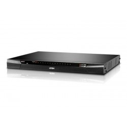 Aten KN4116 1-Local/4-Remote Access 16-Port Cat 5 KVM over IP Switch (1600 x 1200)