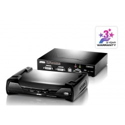 Aten KE6940 USB DVI-I Dual Display KVM Over IP Extender