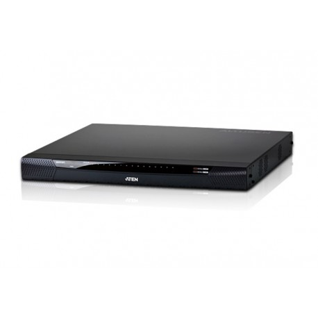 Aten KN2116v 1-Local/2-Remote Access 16-Port Cat 5 KVM over IP Switch with Virtual Media (1600 x 1200)