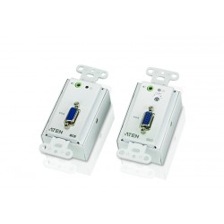 Aten VE156 VGA/Audio Cat 5 Extender Wall Plate 150m