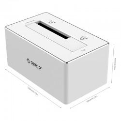 ORICO 6818US3 Aluminum 2.5 & 3.5 inch SATA3.0 USB3.0 External Hard Drive Dock