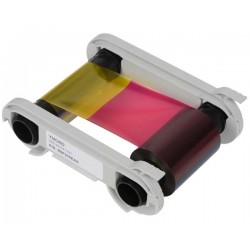Evolis R5F002SAA YMCKO Ribbons Consist Of Yellow (Y), Magenta (M) and Cyan (C)