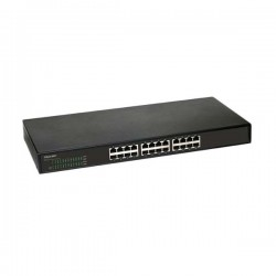 Prolink PSG2420M Black 24-Port 10/100/1000Mbps Gigabit Ethernet Switch