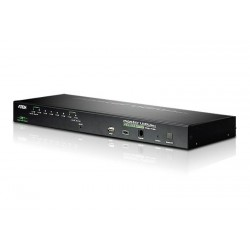 Aten CS1708i 1-Local/Remote Share Access 8-Port PS/2-USB VGA KVM over IP Switch