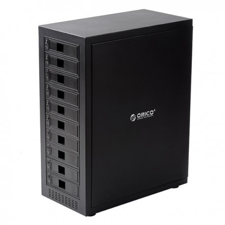 ORICO 1088USJ3 Aluminum 3.5 inch 10 bay SATA to USB3.0 Hard Drive Enclosure