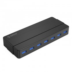ORICO H7928-U3 7 Port USB3.0 Desktop HUB with 12V3A Power Adapter