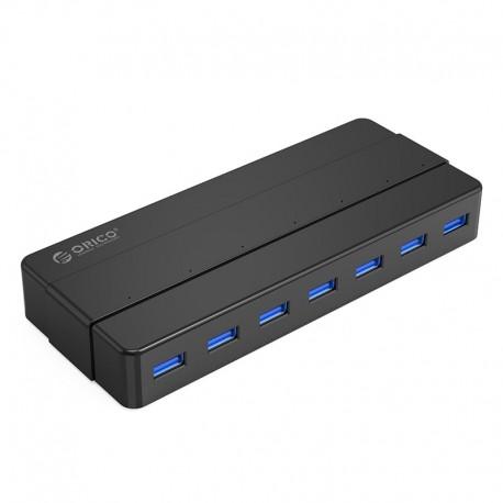 ORICO H7928-U3 7 Port USB3.0 Desktop HUB with 12V3A Power Adapter