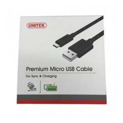 Unitek YC4008BK Premium Micro Usb Cable 3 X 30cm