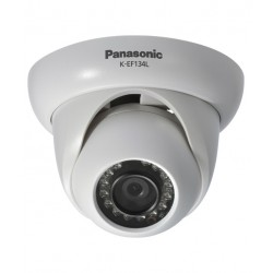 Panasonic K-EF134L02E 1.3 Megapixel 720p Weatherproof Mini Dome Camera