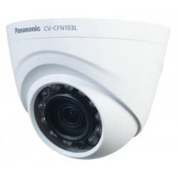 Panasonic CV-CFN103L HD Analog Indoor Day/Night Fixed Dome Camera with IR illuminator