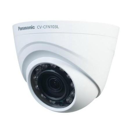 Panasonic CV-CFN103L HD Analog Indoor Day/Night Fixed Dome Camera with IR illuminator