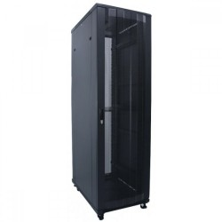 "Indorack 27U Depth 900 mm Standing Close Rack 19"" Perforated Door (IR9027P)"