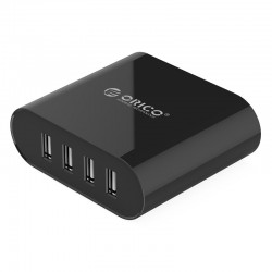 ORICO DCH-4U 4 Port USB Travel Charger with Power Cord