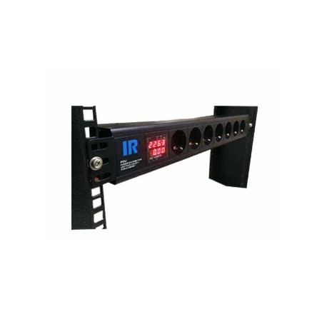 Indorack PDU7GD Power Distribution Unit 7 Outlet Germany socket with digital amphere and voltage display