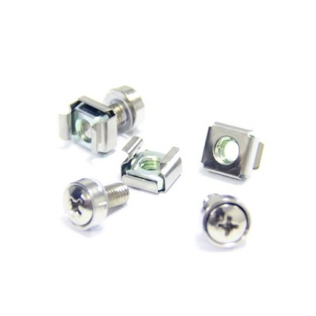Indorack MO6 Cage Nut and Screw