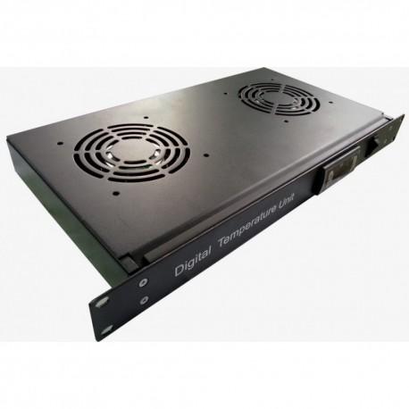 Indorack DTU02 Digital Temperature Unit 2 Fan