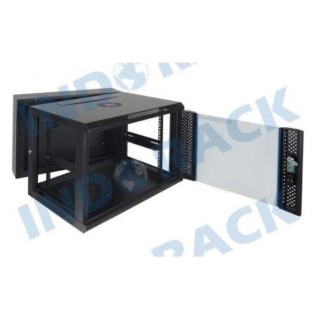 Indorack WIR5508D Wallmount Rack 8U Double Door