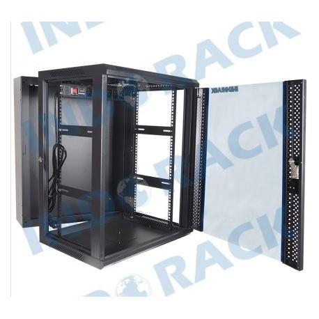 Indorack WIR5515D Wallmount Rack 15U Double Door