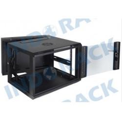 Indorack WIR6008D Wallmount Rack 8U Double Door