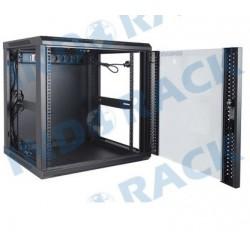 Indorack WIR5512S 19 inch Wallmount Rack 12U Single Door Depth 550 mm