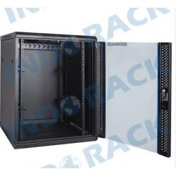 Indorack WIR5515S 19 inch Wallmount Rack 15U Single Door Depth 550 mm