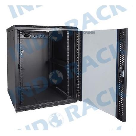 Indorack WIR6015S 19 inch Wallmount Rack 15U Single Door Depth 600 mm