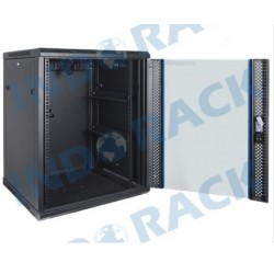 Indorack WIR7015S 19 inch Wallmount Rack 15U Single Door Depth 700 mm