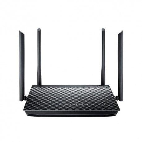 Asus RT-AC1200G+ AC1200 Dual-Band Wi-Fi Router with four 5dBi Antennas