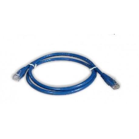 Netviel NVL-PC-PVC-06-01  Cat. 6 UTP Patch Cord Cable PVC Blue 1m