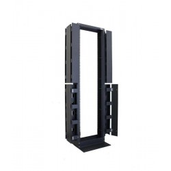 "Abba OE42-B 19""Open Entry Rack 42U High Density with Cable Duct"