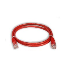 Netviel NVL-PC-PVC-5e-01 Cat. 5e UTP Patch Cord Cable PVC Red 1m
