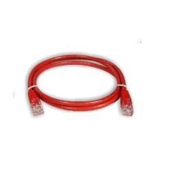 Netviel NVL-PC-PVC-5e-03 Cat. 5e UTP Patch Cord Cable PVC Red 3m