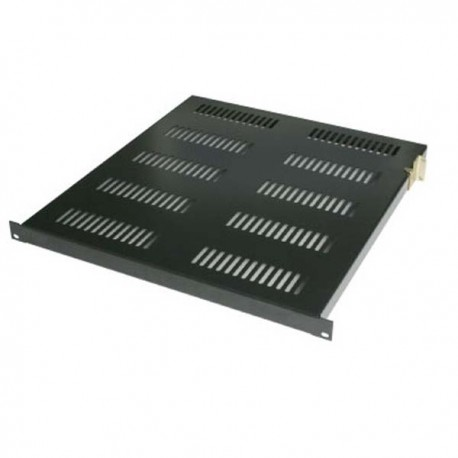 "Abba AR-FS150-G/B 19"" Flat Shelf 500mm 1U for Close Rack depth 900mm"