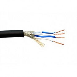Kabel Belden 1192A 24 AWG 4 Conductor Braid shield PVC Jacket