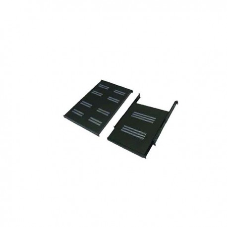 "Abba AR-FS174-G/B 19"" Flat Shelf 740mm 1U for Close Rack depth 1070mm-1150mm"