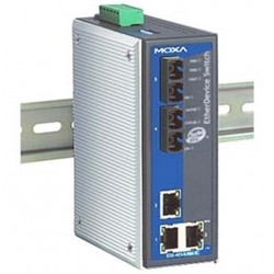Moxa EDS-405A-SS-SC 5-Port Entry-Level Managed Ethernet Switches